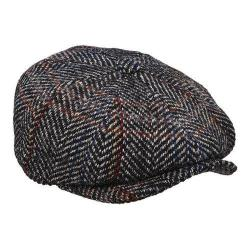 Men's Stetson STW246 Newsboy Cap Black