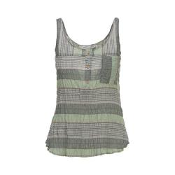 Women's Woolrich Spring Fever Eco-Rich Tank Balsam Green Stripe (2 options available)