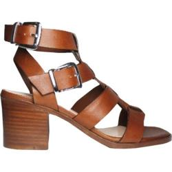 Women's Charles David Bronson Strappy Sandal Natural Leather