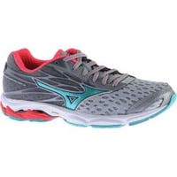 Women's Mizuno Wave Catalyst 2 Running Shoe High-Rise/Turquoise/Diva Pink