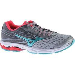 Women's Mizuno Wave Catalyst 2 Running Shoe High-Rise/Turquoise/Diva Pink