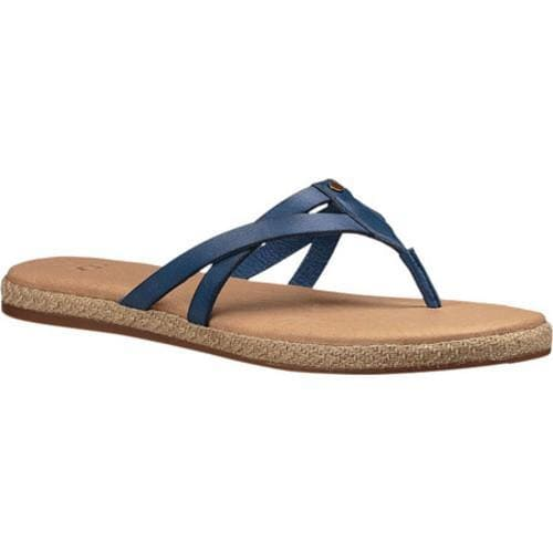 Shop Women s UGG Annice Thong Sandal Marino Leather - Free Shipping Today -  Overstock.com - 14529582 e11b83bc0