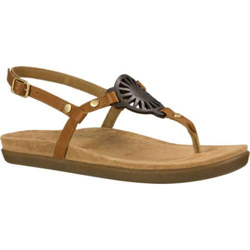 3c8b4db10f89 Shop Women s UGG Ayden Thong Sandal Chestnut Leather - Free Shipping Today  - Overstock - 14529680