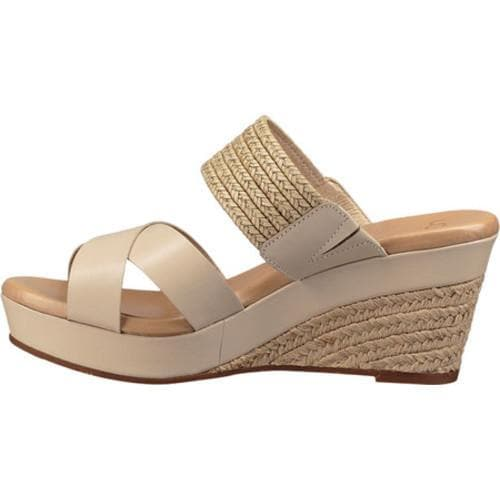 ed84ce3f73a Women's UGG Adriana Wedge Sandal Horchata Leather