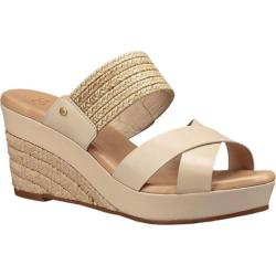 Women's UGG Adriana Wedge Sandal Horchata Leather