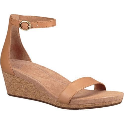 e07500aed37 Women's UGG Emilia Ankle Strap Sandal Natural Leather