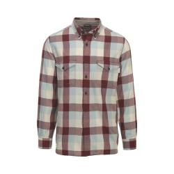 Men's Woolrich Stone Rapids Eco-Rich Shirt Antique Red Buffalo