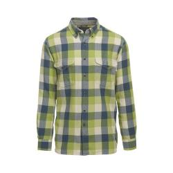Men's Woolrich Stone Rapids Eco-Rich Shirt Leaf Green Buffalo