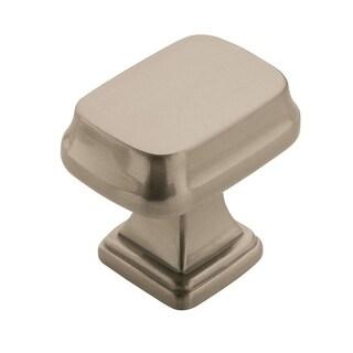 Revitalize 1-1/4 in. (32mm) Length Knob - Satin Nickel - Silver