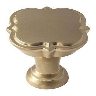 Grace Revitalize 1-3/4 in. (44mm) Diameter Knob - Golden Champagne - GOLD