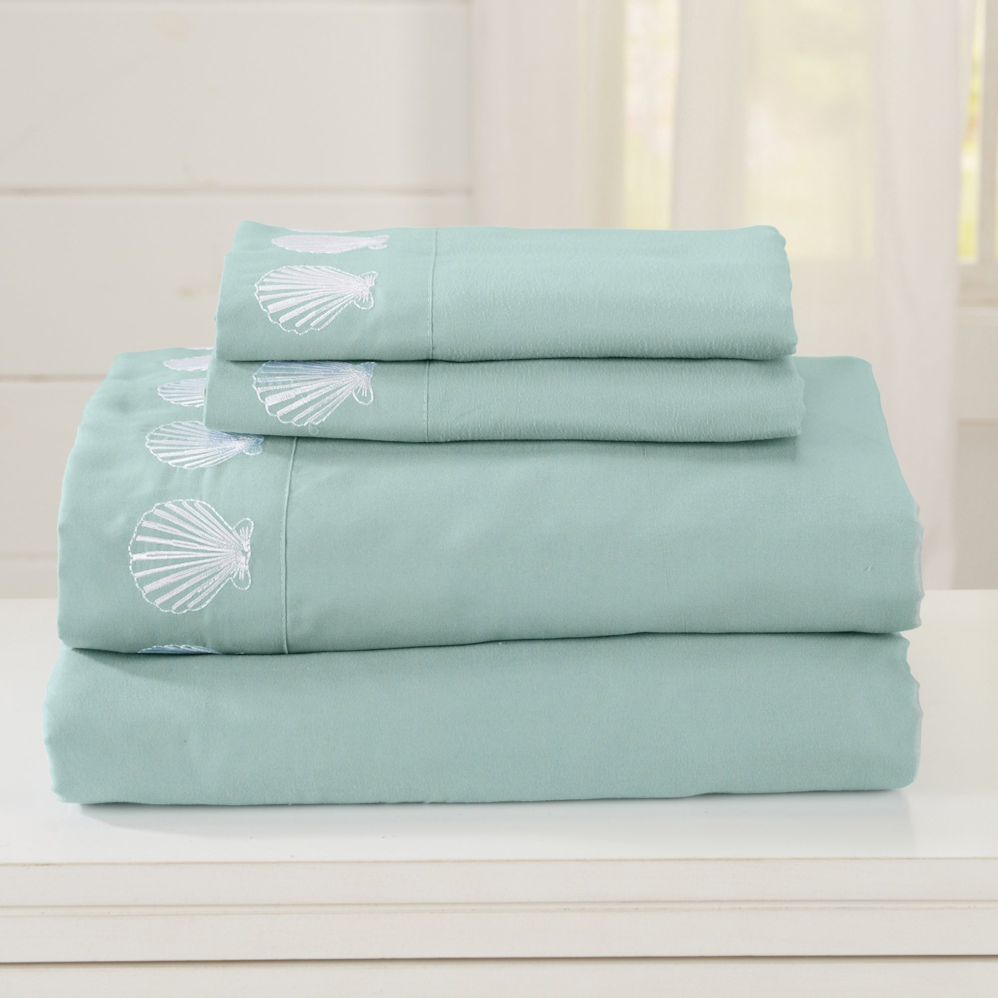 Great-Bay-Home-Double-Brushed-Microfiber-Coastal-Embroidered-