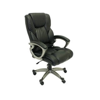 ALEKO High Back Office Ergonomic Computer Desk Chair PU Leather