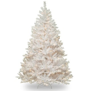 Winchester White Pine 6.5-foot Tree with Clear Lights