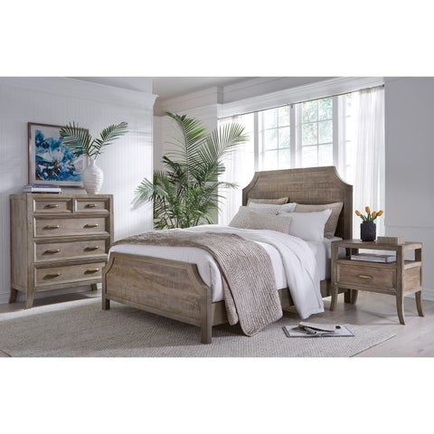Emily Hand Crafted Solid Wood Bed by Kosas Home