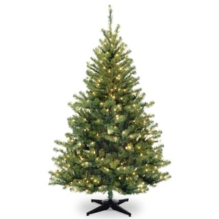 6 ft. Kincaid Spruce Tree with Clear Lights