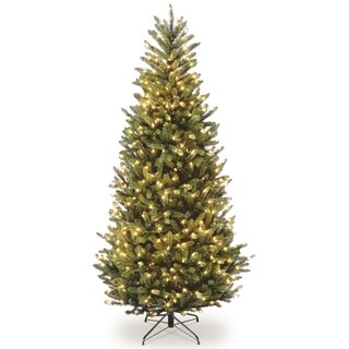 10 ft. Natural Fraser Slim Fir Tree with Clear Lights