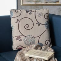 Ippolito Floral Fabric Pillow by Christopher Knight Home