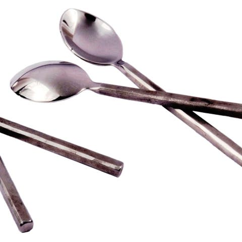 Inox Jason Design 4-piece Nascent Steel Coffee/Dessert Spoon Set