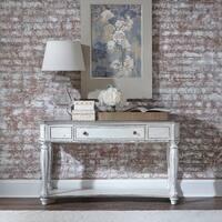 Magnolia Manor Antique White Sofa Table