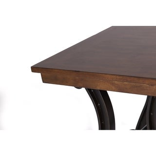 Arlington House Cobblestone Brown End Table
