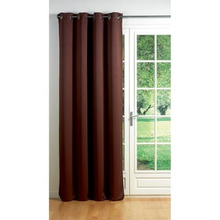 Evideco Blackout Window Curtain Panel Square Grommets Cocoon (More options available)