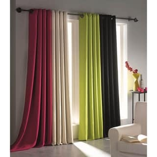 Evideco Blackout Window Curtain Panel Square Grommets Cocoon