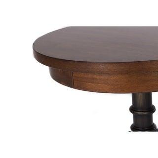 Arlington House Cobblestone Brown Chair Side Table