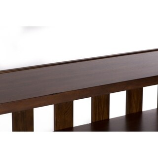Arlington House Cobblestone Brown Sofa Table