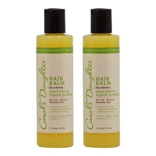 Carol's Daughter Hair Balm 4.3-ounce Nourishing Liquid Pomade (Pack of 2)