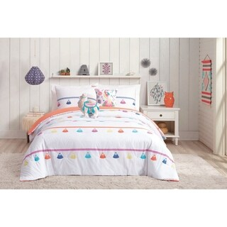 Urban Playground Painted Tassel 5-piece Comforter Set