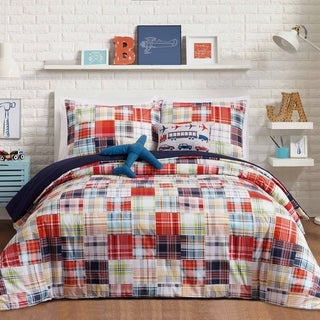 Link to Urban Playground Bryce 4-piece Comforter Set Similar Items in Kids Comforter Sets