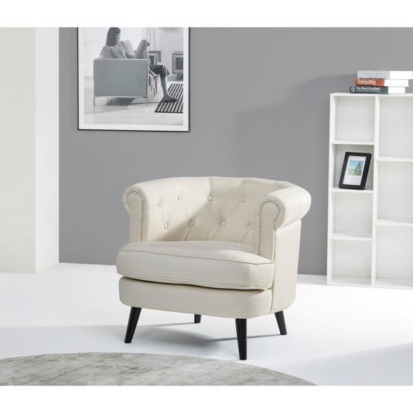 Madison Beige Club Chair
