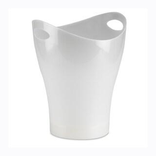 Link to Umbra Garbino Polypropylene Waste Can, Translucent White Similar Items in Kitchen Storage