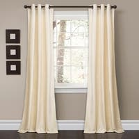 "Lush Decor Prima Velvet Solid Room Darkening Window Curtain Panel Set - 38""w x 84""l"