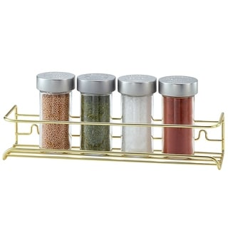 Better Housewares Brass Spice Shelf