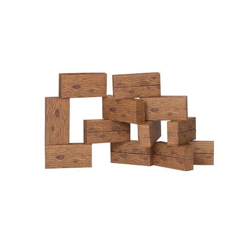 Smart Monkey Toys Giant Timber Set, 16 Pieces
