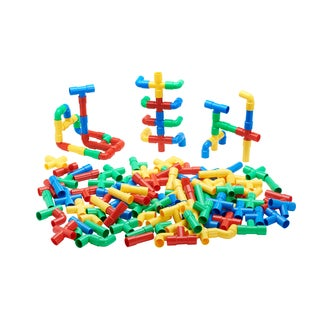 ECR4Kids Totally Tubular Pipes and Spouts Set, 80 Pieces