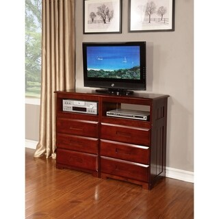 Entertainment 6 Drawer Dresser