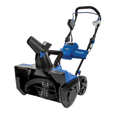 Snow Joe iON21SB-PRO-RM Cordless Single Stage Snow Blower 21-Inch 5 Ah Battery 40 Volt Brushless (Refurbished)