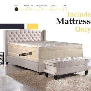 Spring Coil 13-inch Firm Pillowtop Queen-size Mattress
