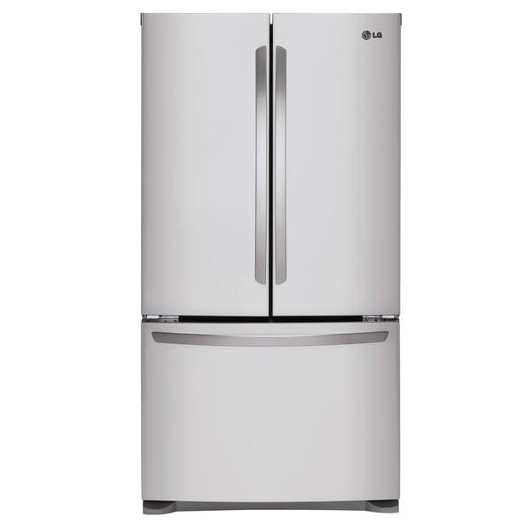 Mega Capacity 3 Door French Door Refrigerator In