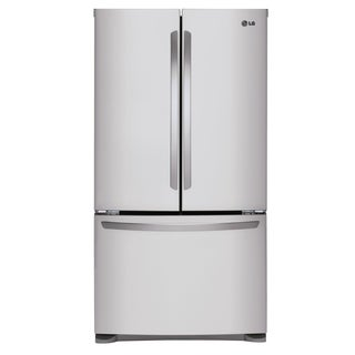 LG LFCS25426S 25 cu.ft. Mega Capacity 3-Door French Door Refrigerator in Stainless Steel