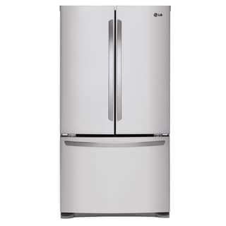 Attirant Mega Capacity 3 Door French Door Refrigerator In