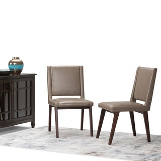 WYNDENHALL Tierney Mid Century Deluxe Dining Chair (Set of 2)