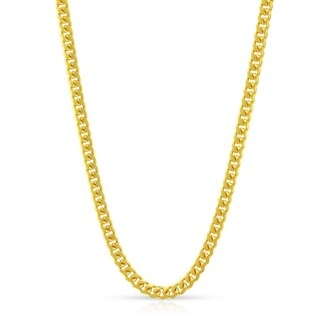 Authentic 14k Yellow Gold 2 5mm Solid Miami Cuban Curb Link Thick Necklace Chain 18 30 Men Women In Style Designz
