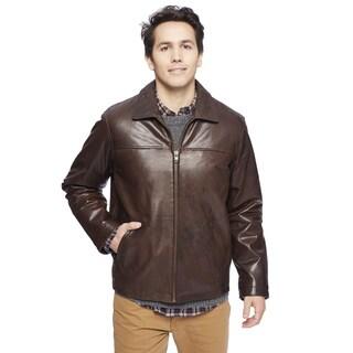 Wilda Brown New Zealand Lambskin Jacket (As Is Item)