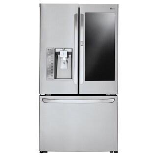 LG LFXS30796S 30 cu. ft. InstaView™ Door-in-Door® Refrigerator in Stainless Steel