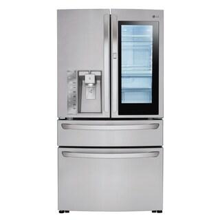 LG LMXC23796S 23 cu. ft. InstaView Door-in-Door® Counter-Depth Refrigerator in Stainless Steel