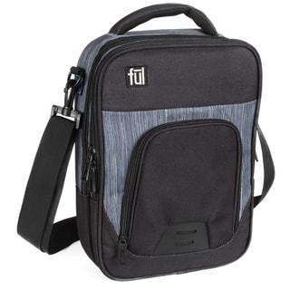 FUL Tango Black Tablet Messenger Bag