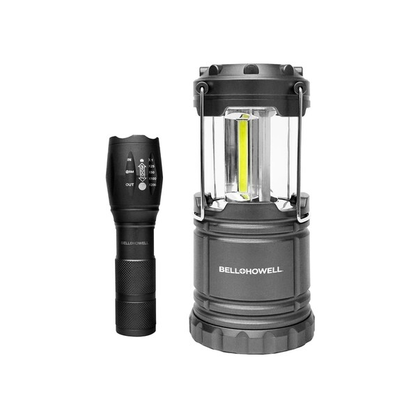 Bell Howell Taclight Flashlight and Lantern Bundle